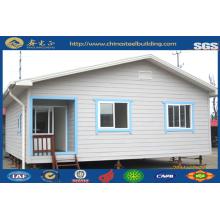 Maison préfabriquée en acier léger / maison modulaire modulable maison / acier préfabriquée (JW-16255)