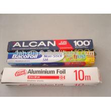 rouleaux de papier d'aluminium