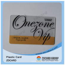 Clear Contact Transparent IC Card/ Plastic Cards