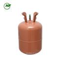 China 99,9% de pureza Misturado R404a gás Cilindro Reutilizável 11.3 kg evaporado resíduo 0.01% para Cingapura