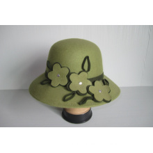 Women's Wool Felt Church Hats--YJ76