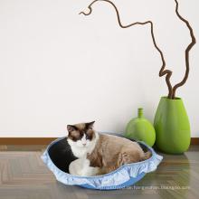 Großhandelsnatur EVA beständiges Oval-Haustier-Katzen-Bett DogLemi neues Entwurfs-Funktions-Natur-hölzernes Haustier-Haus-Stuhl weiches Katzenbett >> Lustiger Zwinger luxuriöses weiches Eihaus für Hund und Katze >> Fisch-Entwurfs-Baumwollsegel