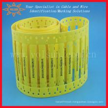Halogen Free Wire Identification Heat Shrink Lables