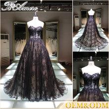 Alibaba China Senhoras vestido de noiva de alta qualidade personalizado sexy evening plus size wedding dress 2016