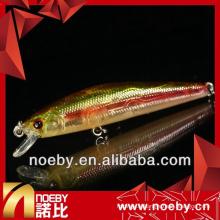NOEBY 65mm 4.6g lure dure pêche minnow lure meilleure qualité
