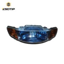SCL-2012110327 Lâmpada de cabeça de faróis para peças sobressalentes de moto 50cc