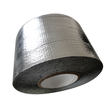 UV Perlawanan Aluminium Foil Butyl Rubber Flashing Tape