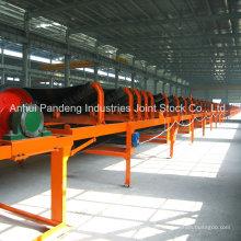 Mina de carbón estándar ASTM / DIN / Cema / Sha utilizando cinta transportadora fija