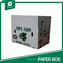 Коробка рифленой коробки Упаковывая для фермы органических продуктов (FP200101)