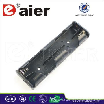Soporte de batería Daier 6v 4 aa con soporte de batería de cable 4 aa