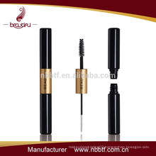 SAL-4, Plastic gold and black color two heads mascara bottle