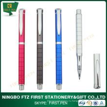 Рекламная ручка с металлическим роликом