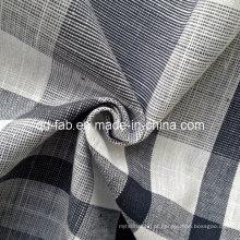 100% fio de algodão tingido tecidos tecido (QF13-0763)