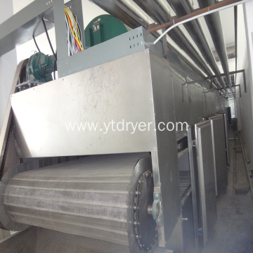 Emamectin benzoate vacuum conveyor belt drying machine