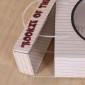 Гофрированные коробки для детская одежда с веревочными ручками