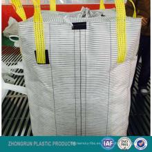 bolsa conductiva tipo C, antiestática tipo C 1 tonelada fibc bags Bolsa conductiva grande para arena y químicos