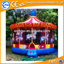 Sale vivid design jumper bouncer inflatable christmas carousel for kids
