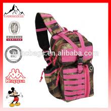 Mens Tactical Gear Hidratação Pronto Sling Shoulder Backpack Daypack Bag