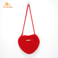 Handmade Crochet Single Bag Damenhandtasche