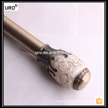 28mm plating resin curtain rods