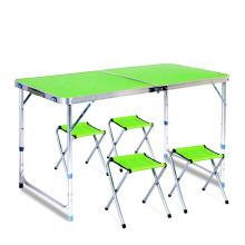 Mesa de metal de alta qualidade de baixo preço altura ajustável mesa de campismo de festa