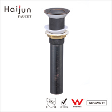 Haijun El precio al por mayor OEM cUpc Lacquered Lavabo Basin Pop-Up Drain