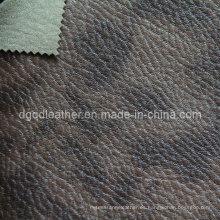 Cuero respirable de los muebles de la PU del diseño de la moda (QDL-FB0047)