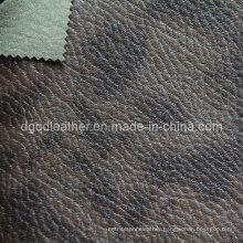 Fashion Design Breathable PU Furniture Leather (QDL-FB0047)