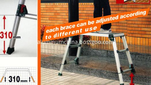 adjustable leg platform
