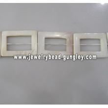 rectangular shape fresh water shell bead
