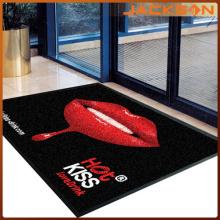 Tapis en caoutchouc de publicité de Nice Design imprimé en nylon