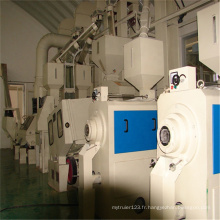 Machine de traitement de riz à jeu complet de 3 tonnes par heure
