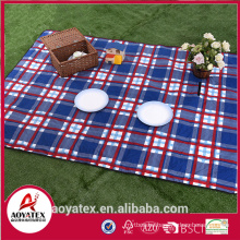 2mm foam polyester waterproof picnic blanket for outdoor use