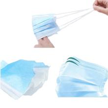 Protection faciale jetable médicale dans les fournitures médicales