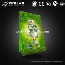 Aluminiumfolie grüner Tee Pulverbeutelbeutel / grüner Teepuderbeutel
