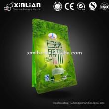 Алюминиевая фольга зеленый чай порошок мешочек мешок / зеленый чай порошок мешочек