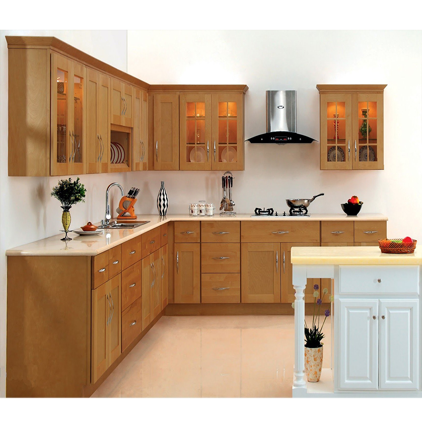Customized American Modern Kitchen Cabinet
