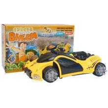 Box Package Veículos elétricos Light & Music Racer Toy