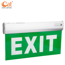 Qihui levou sinal indicador de saída de emergência