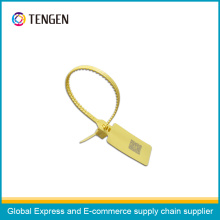 Plastic Security Seal with OEM Logo and Barcode Type 13