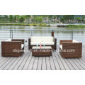 PE Rattan & Aluminium Rahmenmöbel, Outdoor Rattan Sofa