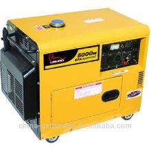 CE kleine Outpurt Macht 5kw Silent Diesel Generator (WH5500DGS)