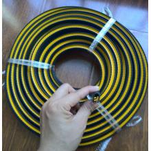 Tira de guarnição de PVC em forma de u borda afiada em metal