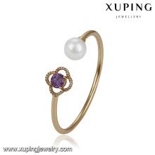 51761 xuping Wholesale luxury women jewelry ,elegant pearl bangle