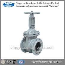 Válvula GOST de aço carbono em indústria de petróleo ou gás