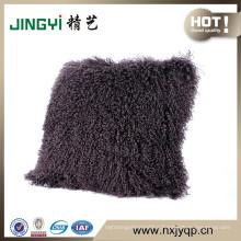 Wholesale Latest Fahion Tibet Lamb Fur Wool Cushion