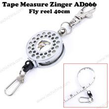Ruban à mesurer de pêche populaire Zinger Fly Reel 40 Cm