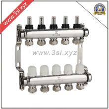 Separador de água para aquecimento de piso com medidor (YZF-M806)