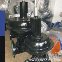Пневматический мембранный клапан с резиновой подкладкой Bs (нормально открытый тип)