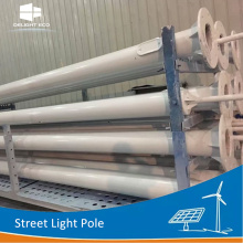DELIGHT Illumination Solar Street Light Pole en acier